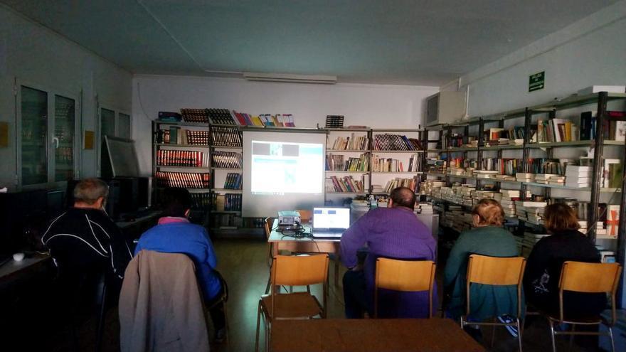 Curso de las aulas itinerantes en Vencillón