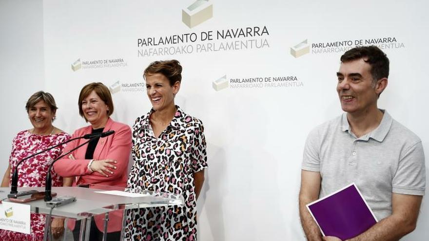 PSN, Geroa Bai, Podemos e I-E retoman las negociaciones para Gobierno foral