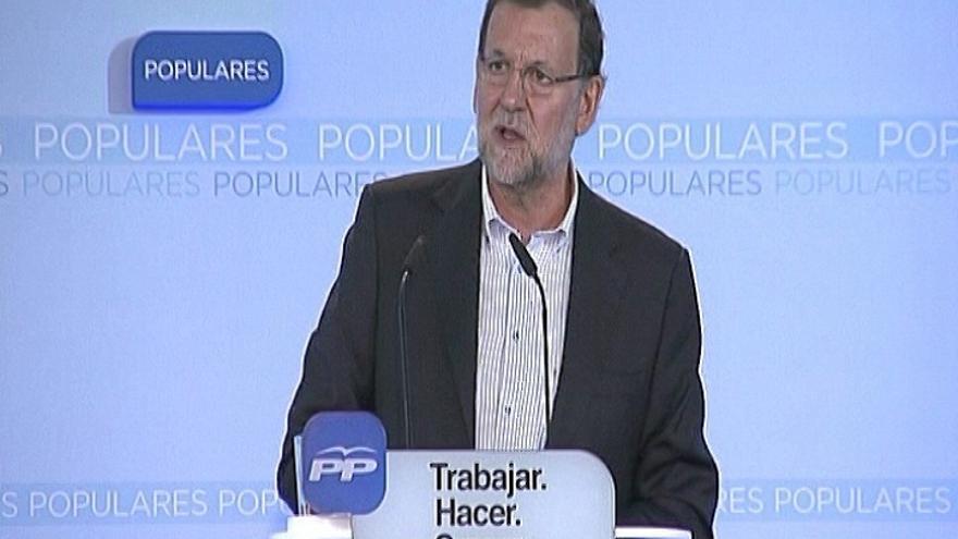 """Rajoy: """"Todos prometen el cambio, pero ya empezó en 2011 y no hay que pararlo"""""""