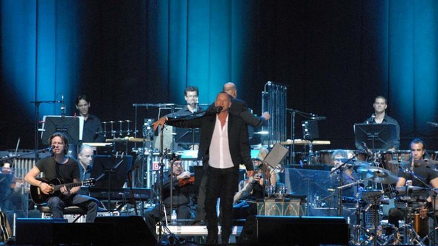 Del concierto de Sting #19