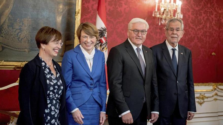 El presidente alemán pide mejorar la situación en origen para evitar más emigración