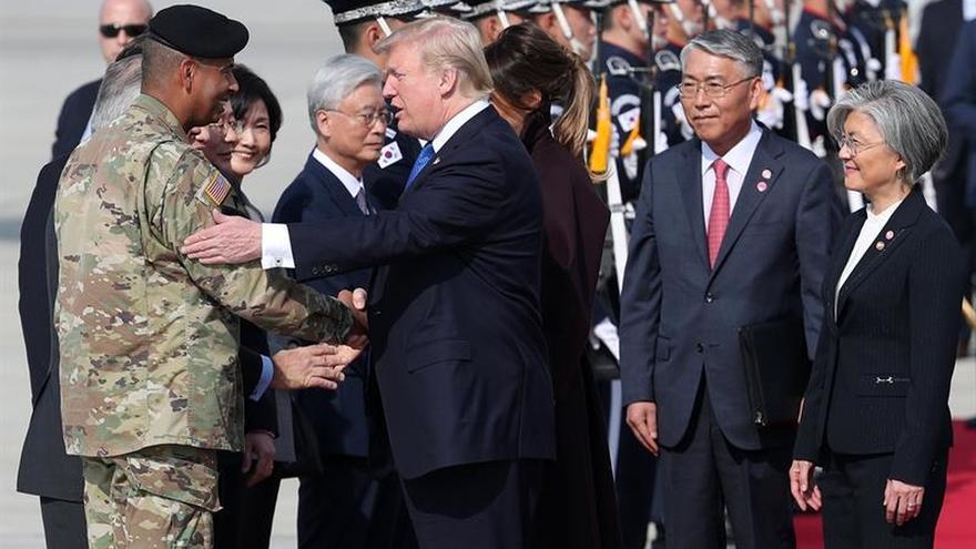 """Trump dice que """"todo se arreglará"""" con Corea del Norte"""