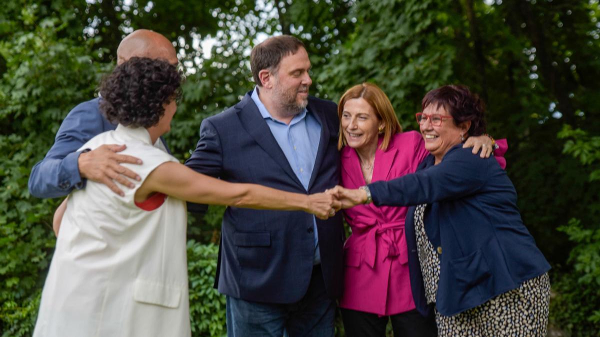 Los cinco político han vuelto a verse en Ginebra, más de tres años después de la última vez