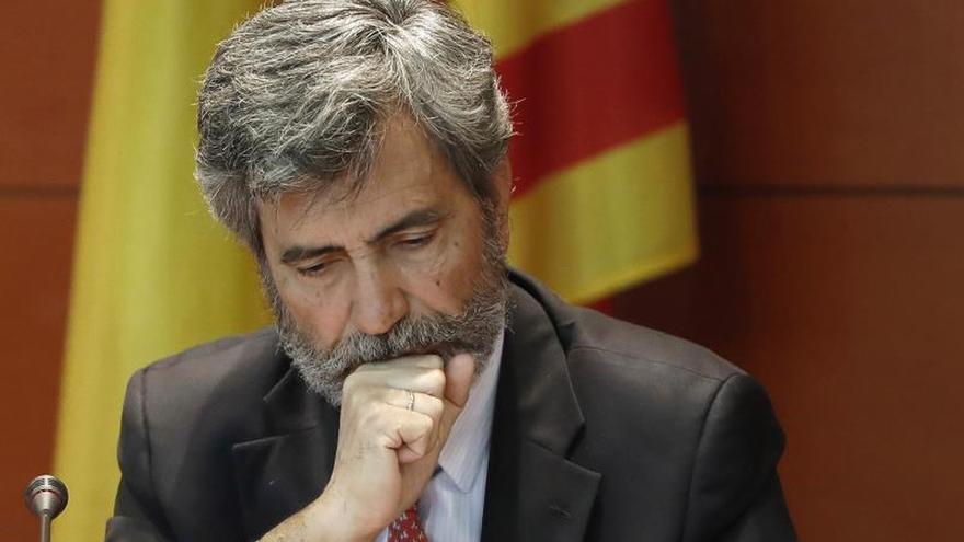"""Torrent esgrime la carta de Lesmes para denunciar una """"gran farsa"""" judicial"""