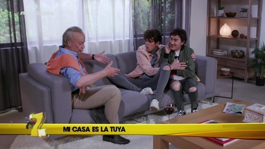 Bertín convierte a Los Javis en sus clones pero no puede con Paquita Salas, en la última parodia de Homo Zapping
