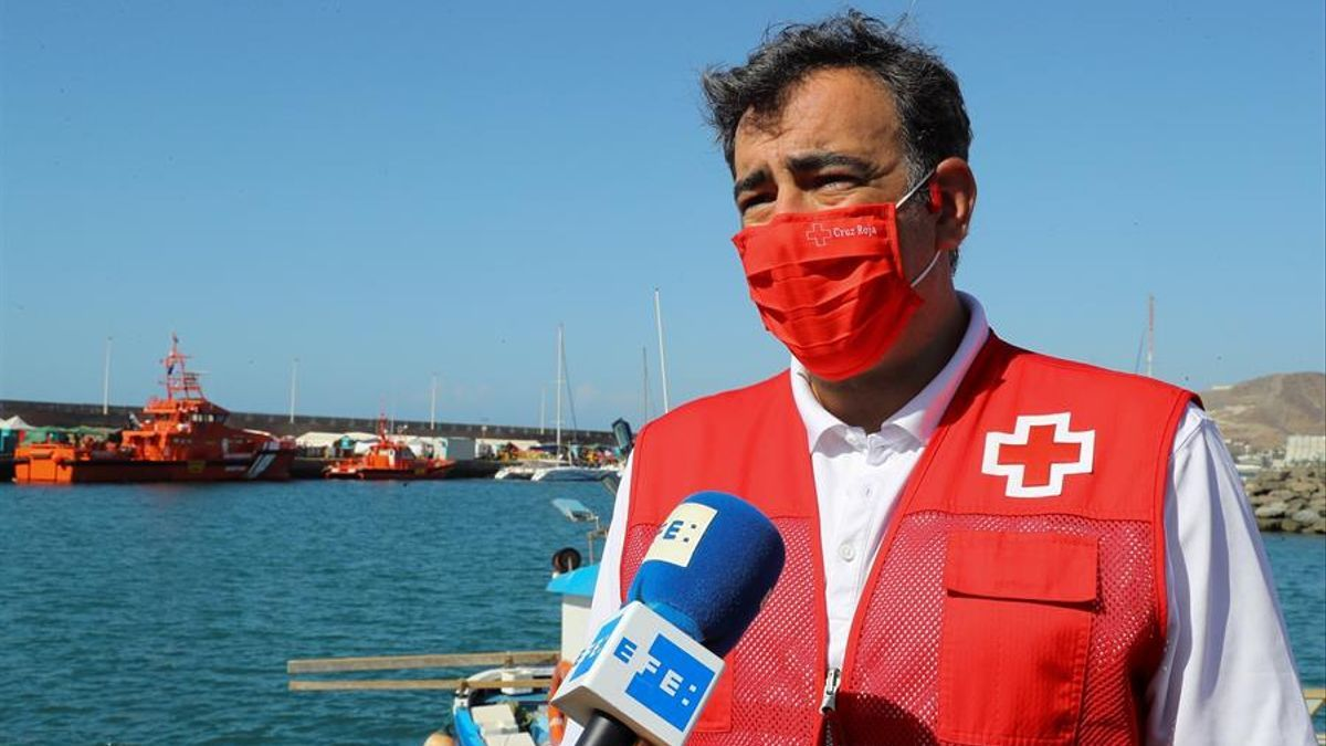 El director de Emergencias de Cruz Roja Española, Íñigo Vila. EFE/Elvira Urquijo A.
