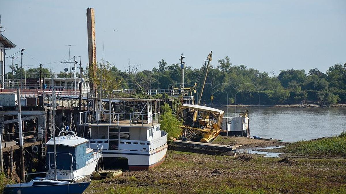 El río Paraná continúa descendiendo y llega a niveles históricos.