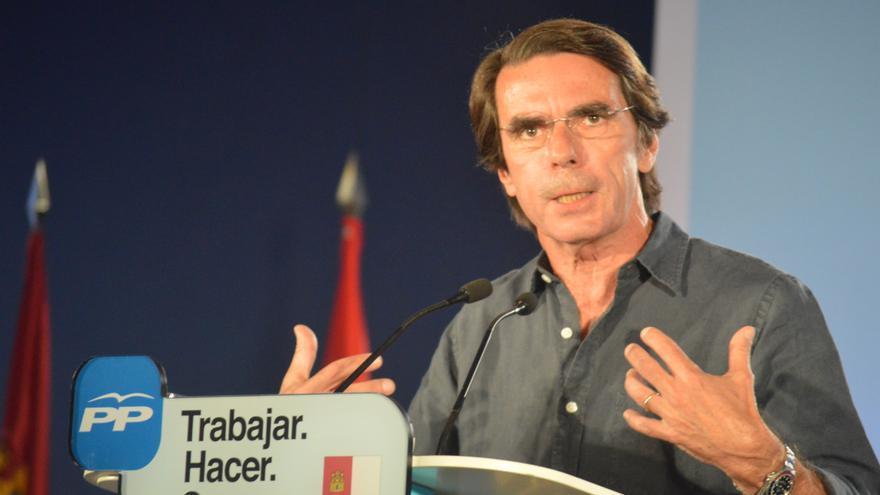 Aznar en Toledo / Foto: Javier Robla