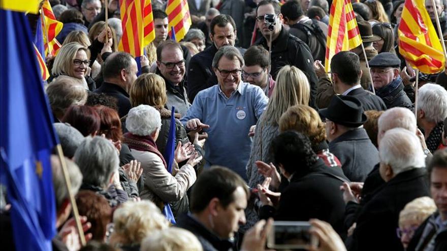 """Mas pide """"no seguir el juego"""" a una coalición PP-C's que iría contra Cataluña"""
