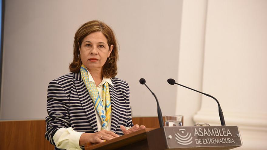 Pilar Blanco-Morales Limones, consejera de Hacienda y Administración Pública, Junta Extremadura
