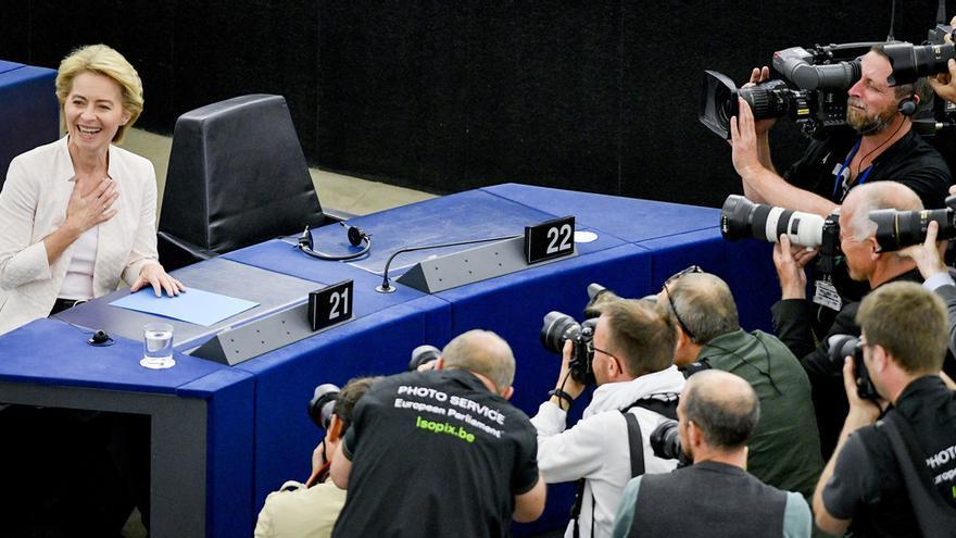 Elección de Ursula Von der Leyen como presidenta de la Comisión Europea.