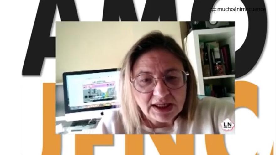 Pantallazo del vídeo difundido en Cuenca para animar a quienes trabajan en servicios esenciales durante la pandemia