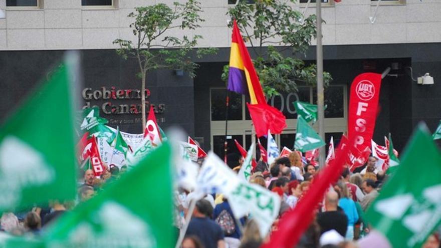 De la protesta de empleados públicos #13