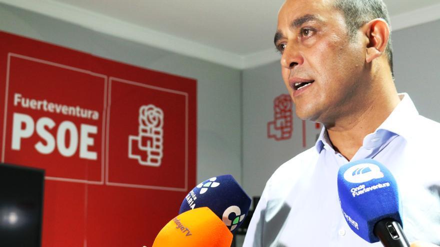 Blas Acosta, líder del PSOE de Fuerteventura.