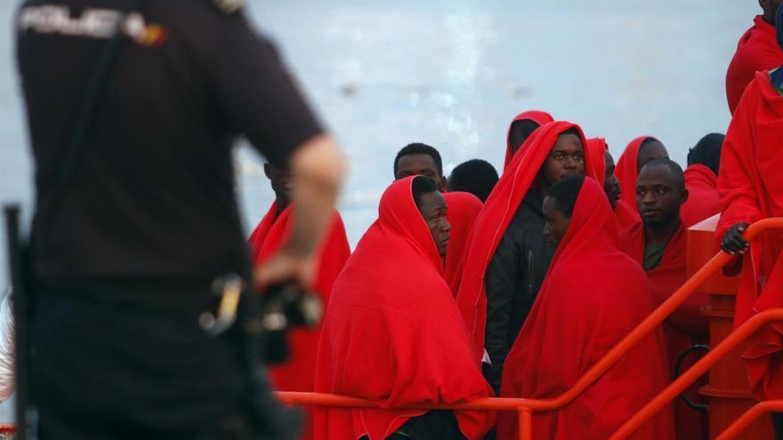 Rescatada al sur de Gran Canaria una patera con 23 migrantes a bordo