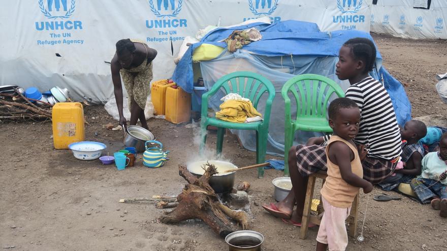 Refugiados sursudaneses en Uganda / Amnesty International