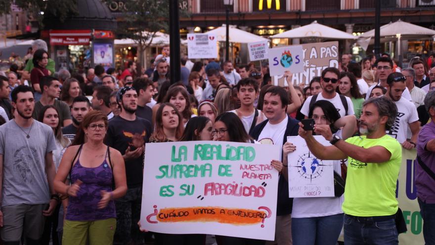 Manifestación por el clima en Toledo