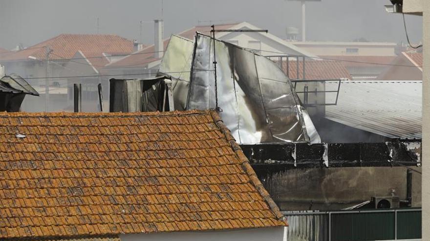 Al menos cinco muertos al estrellarse una avioneta cerca de Estoril