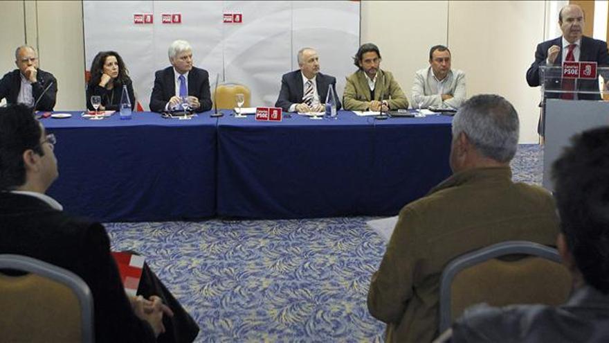 """Gaspar Zarrías afirma que el PP """"está podrido"""" y debe meter el bisturí a fondo para ser creíble"""