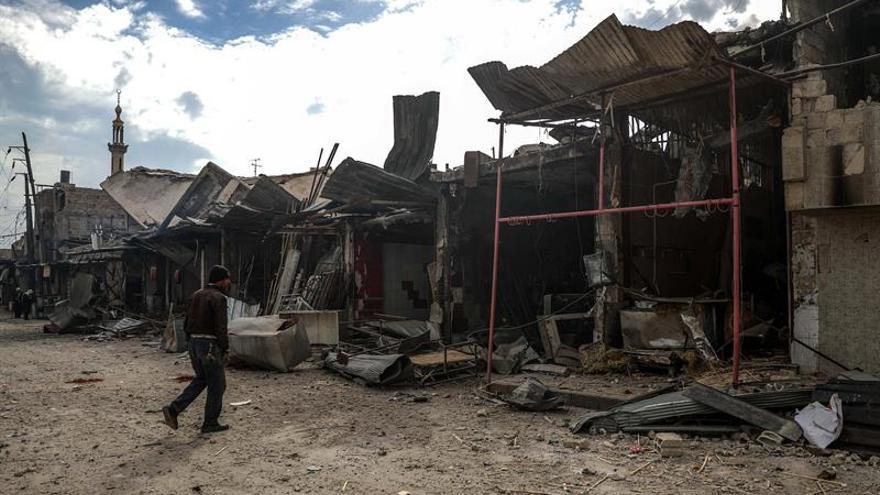 """EE.UU. exige el """"fin inmediato"""" de las operaciones ofensivas en Siria"""