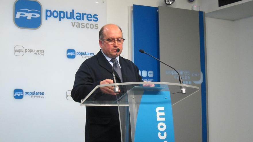 """PP vasco afirma que el Gobierno de España """"está para oponerse legalmente a las apuestas de ruptura"""" como la de Cataluña"""
