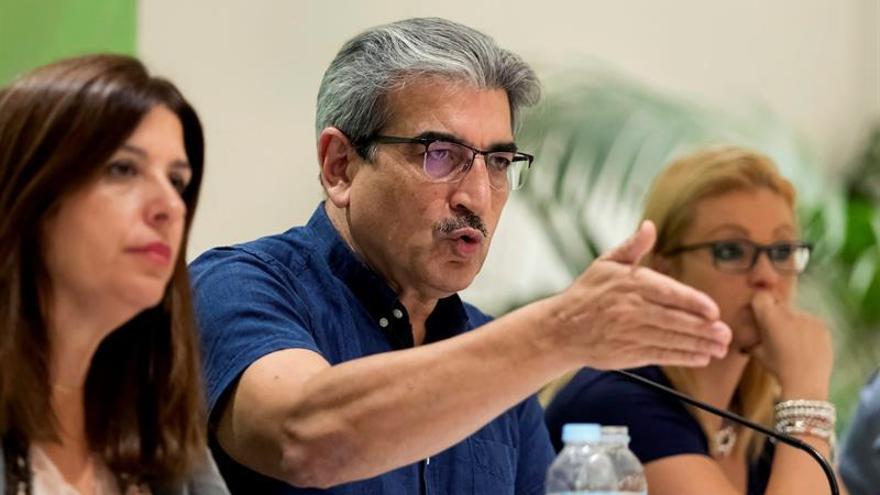 El presidente de Nueva Canarias, Román Rodríguez