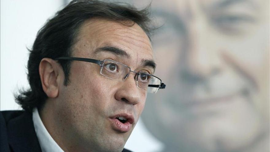 Josep Rull assegura que la taxa d'atur cauria al 10% si Catalunya fos independent.