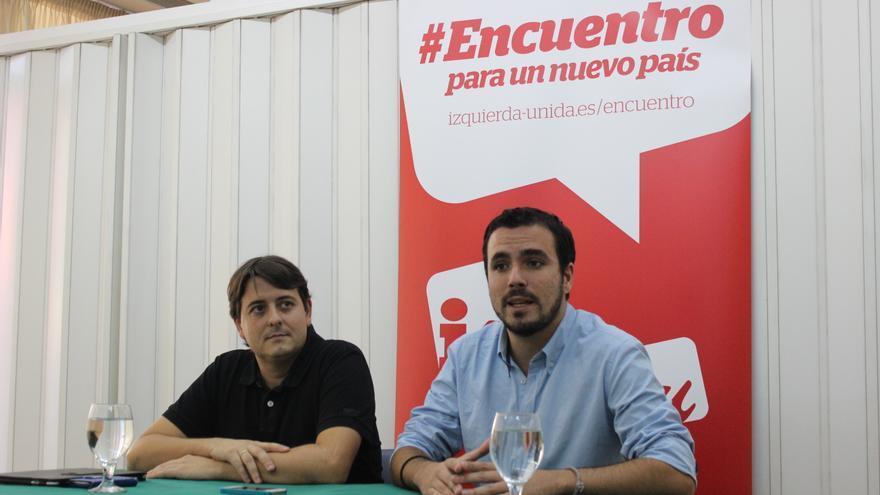 Alberto Garzón llama al activismo político y a la participación a aquellos que están sufriendo la crisis
