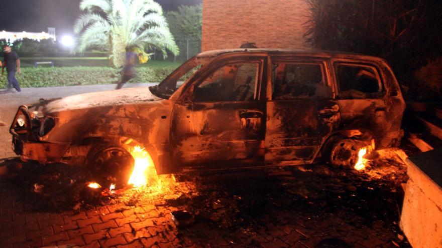 Alrededor de 50 detenidos por el ataque en Bengasi, según el presidente libio