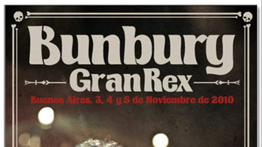 Imagen promocional de Gran Rex, el próximo disco recopilatorio de Enrique Bunbur