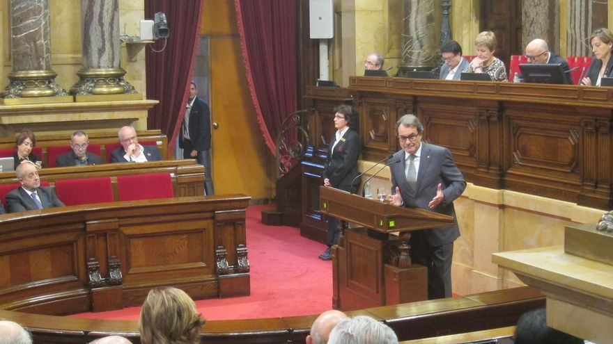 El Parlament reserva los días 4, 5 y 7 de enero para una posible pleno de investidura