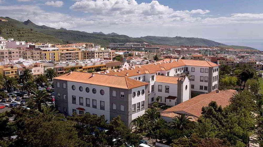 Residencia de la Universidad de La Laguna.
