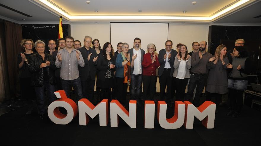 "Jordi Cuixart (Òmnium) a JxSí y la CUP: ""Lleguen a un acuerdo como sea"""