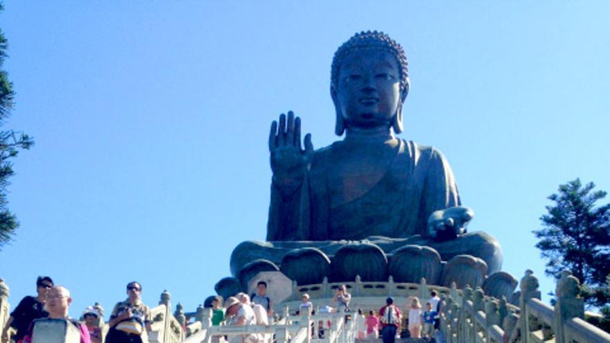 El Buda gigante, una de las imágenes más genuinas de Hong Kong.