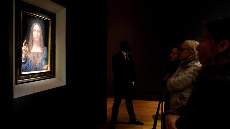 Un príncipe saudí es dueño de un cuadro de Da Vinci subastado, según el NYTimes