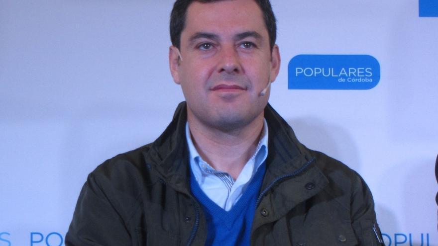 """Moreno (PP-A) destaca que Rajoy ha puesto fin """"al discurso de confrontación de Díaz para ocultar su mala gestión"""""""