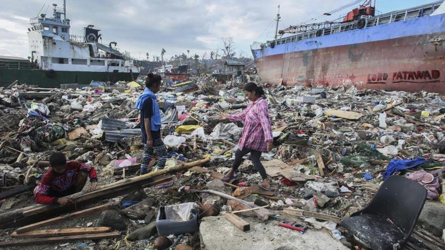 Las víctimas de Haiyan aun necesitan ayuda humanitaria, según alerta la ONU