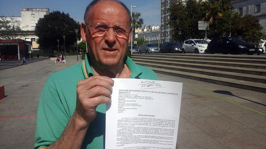 """José Ortega asegura que fue """"torturado"""" por la Brigada Político Social del franquismo."""