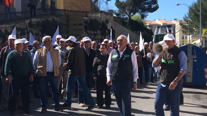 Manifestación Asaja Cuenca