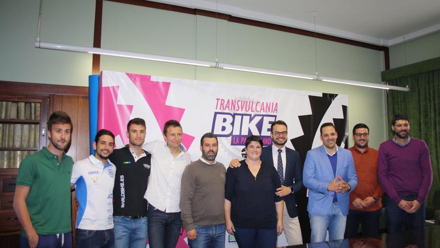 Presentación este jueves de la 'Transvulcania Bike'.