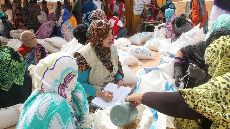 España dona dos millones de euros al Programa Mundial de Alimentos para los refugiados saharauis