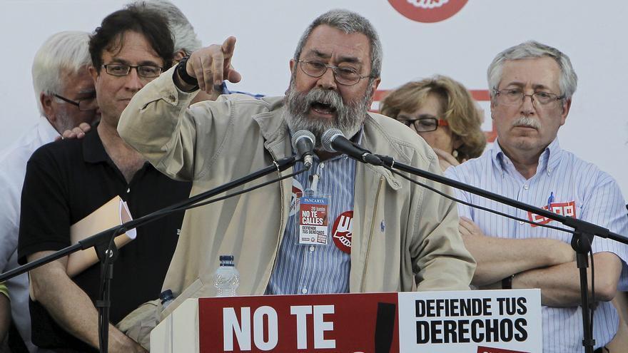 Toxo y Méndez piden a Rajoy que escuche a los ciudadanos y evite la huelga