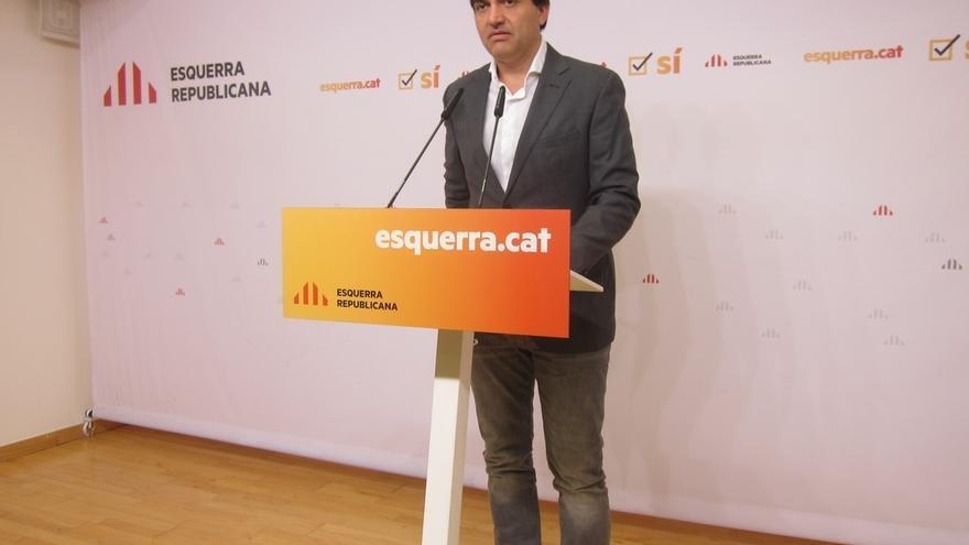 """ERC dice que el Gobierno catalán no estaba preparado para una República con """"violencia"""" del Estado"""