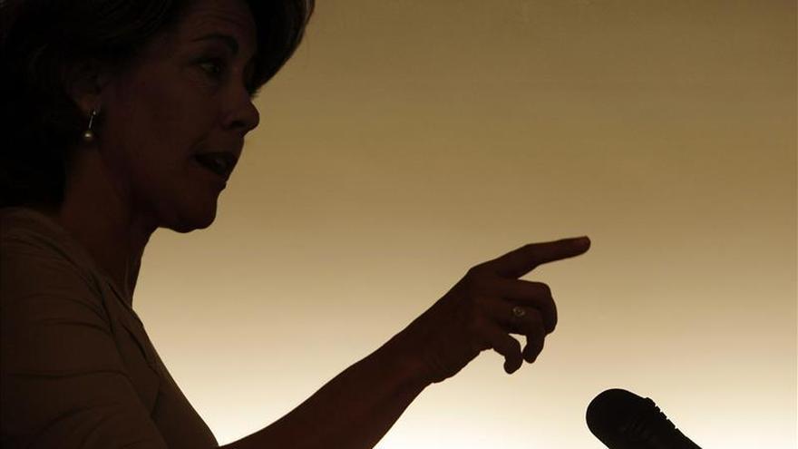 Barcina renuncia a ir en la lista de UPN al Parlamento ante el órdago de Esparza