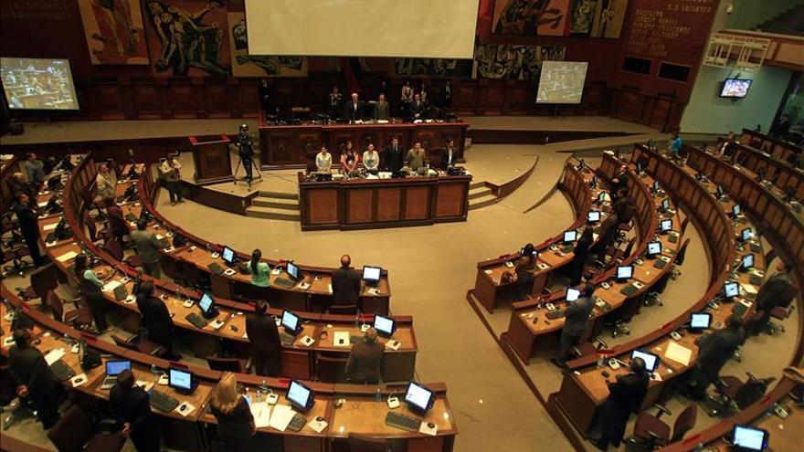 La Asamblea de Ecuador inicia el debate final de las enmiendas constitucionales