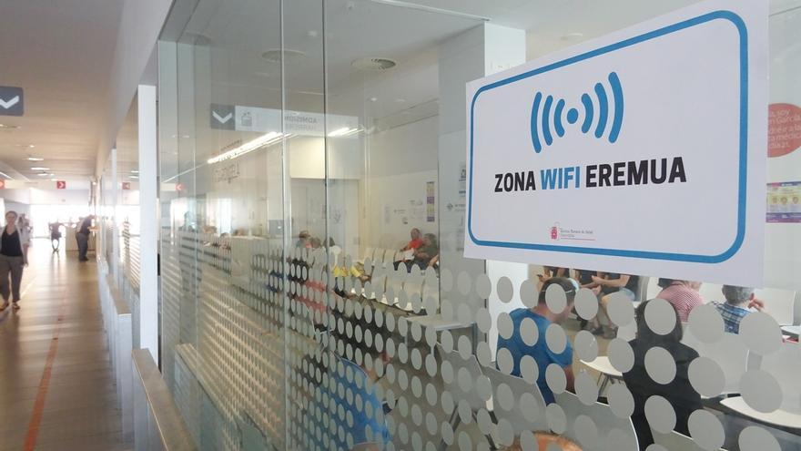 Urgencias de los hospitales de Pamplona, Tudela y Estella ofrecerán wifi gratuito a pacientes y acompañantes