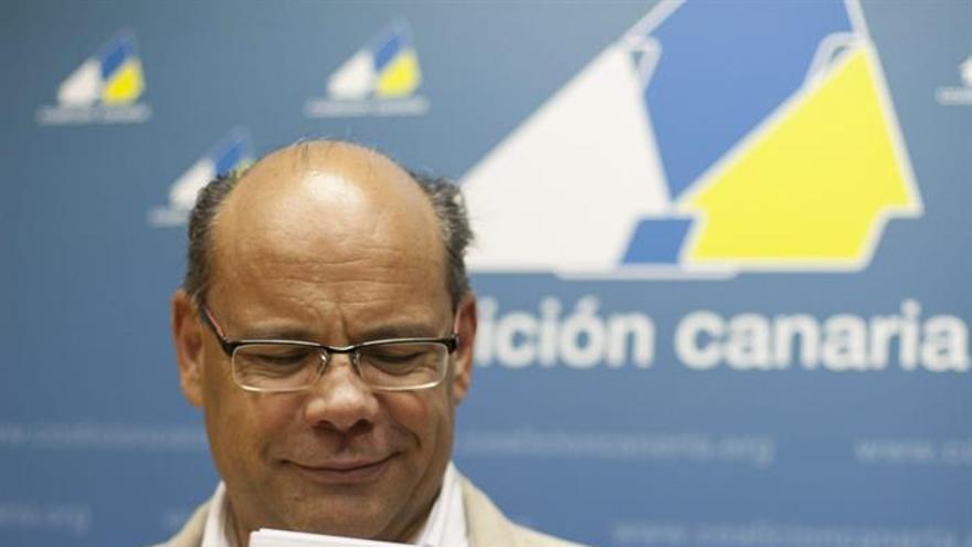El secretario general de Coalición Canaria, José Miguel Barragán. (EFE/Ángel Medina G.).