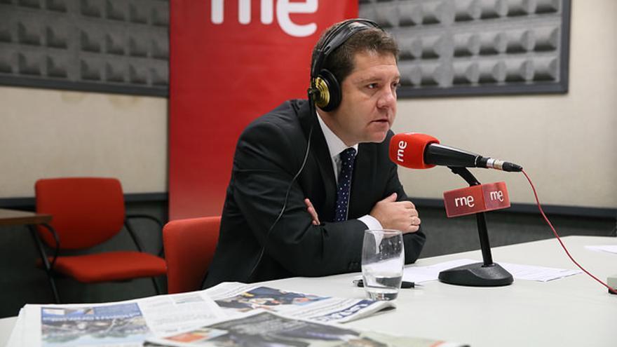 Emiliano García-Page en RNE / Foto: JCCM