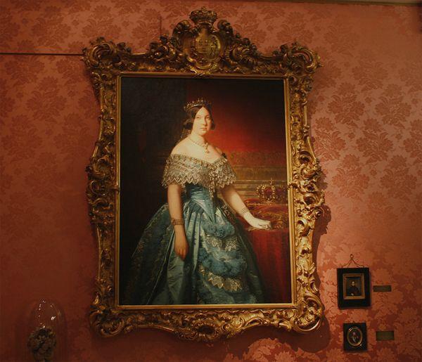 Retrato de Isabel II, por Federico de Madrazo (1846) | Fotografía: Museo del Romanticismo