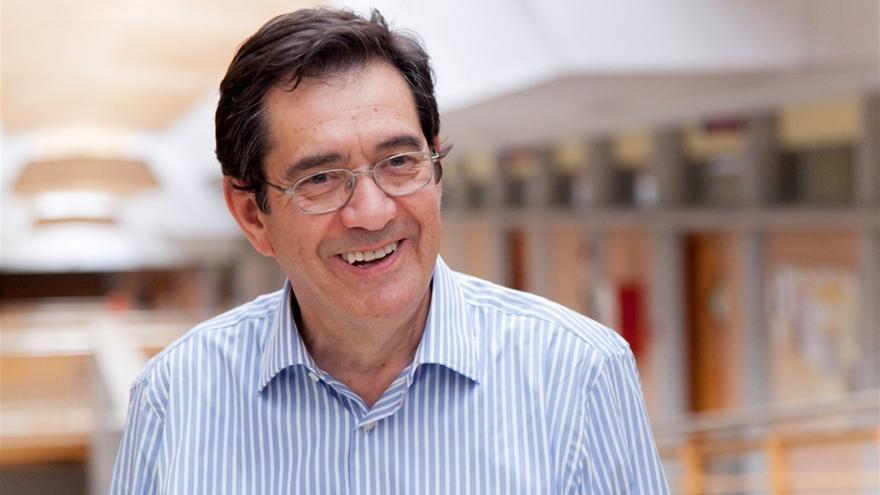 Antonio Martinón, rector de la Universidad de La Laguna